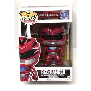 New Funko Pop Red Ranger Action Figure
